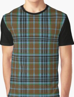 Printmaker-Plaid Scottish-Inspired Totally-Unofficial Thompson(ish) Tartan Graphic T-Shirt