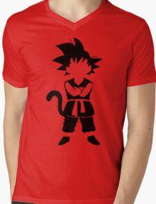 Sangoku Mens V-Neck T-Shirt