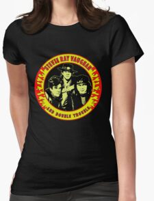 Stevie Ray Vaughan & Double Trouble Colour Womens Fitted T-Shirt