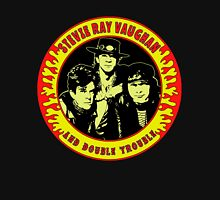 Stevie Ray Vaughan & Double Trouble Colour Unisex T-Shirt