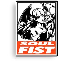 Morrigan Soul Fist Obey Design Canvas Print