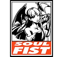 Morrigan Soul Fist Obey Design Photographic Print
