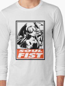 Morrigan Soul Fist Obey Design Long Sleeve T-Shirt