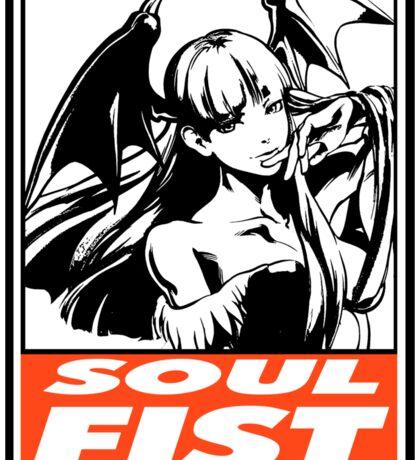 Morrigan Soul Fist Obey Design Sticker