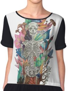 The Story of my bones  Chiffon Top