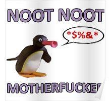 Angry Pingu - NOOT NOOT! Poster