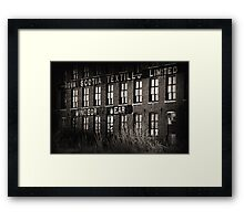 Windsor Wear Framed Print