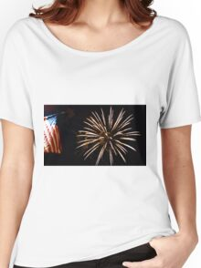 Red, White  & Blue Women's Relaxed Fit T-Shirt