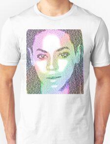 Beyonce (with 'Sandcastles' lyrics) Unisex T-Shirt
