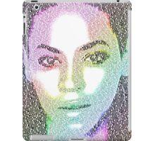 Beyonce (with 'Sandcastles' lyrics) iPad Case/Skin