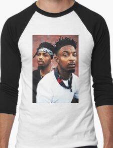 21Savage & Metro Boomin Men's Baseball ¾ T-Shirt
