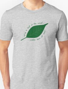 Leaf in the Wind Unisex T-Shirt