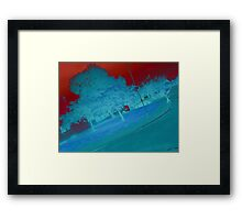 Difference Tree Framed Print
