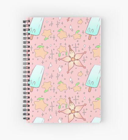 KINGDOM HEARTS Pattern #1 Spiral Notebook