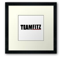 Team Fitz | Scandal Framed Print