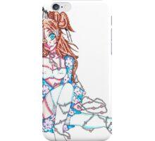 sexy kimono girl iPhone Case/Skin