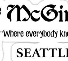 McGinty's – Frasier, Marty Crane Sticker