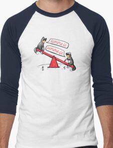 Seesaw Life Men's Baseball ¾ T-Shirt