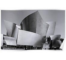 Watl Disney Concert Hall Poster