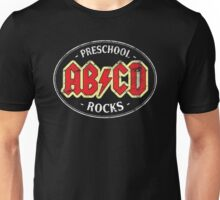 Vintage Preschool Rocks - dark Unisex T-Shirt