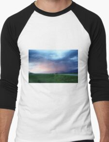 Summer Storm in the Valley Men's Baseball ¾ T-Shirt