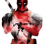 Deadpool Silhouette by lynxcollection