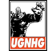 Nemesis UGNHG Obey Design Photographic Print