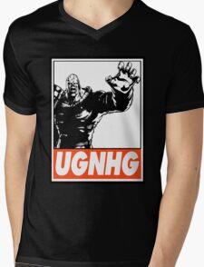 Nemesis UGNHG Obey Design Mens V-Neck T-Shirt