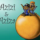 Grapefruit Fairies Azizi and Aziza by treasured-gift