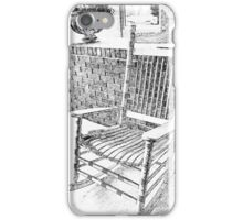 Sketchy Seating iPhone Case/Skin