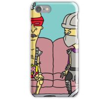 beavis and butthead tmnt mashup iPhone Case/Skin