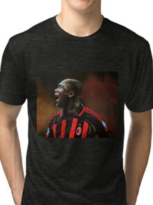 Clarence Seedorf painting Tri-blend T-Shirt