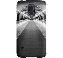 Light Tunnel in B&W Samsung Galaxy Case/Skin