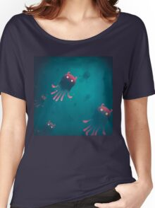 Sea Monsters - Into the Monsters Forest Women's Relaxed Fit T-Shirt