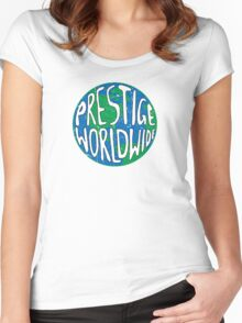 Vintage Prestige Worldwide Women's Fitted Scoop T-Shirt