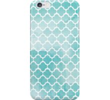 Blue watercolor iPhone Case/Skin