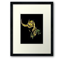 Prince of Mischief Framed Print
