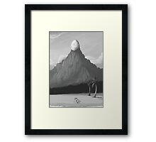 Dawn of Adventure : The Egg on the Mountain (18 left) Framed Print