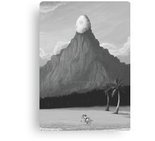 Dawn of Adventure : The Egg on the Mountain (15 left) Canvas Print