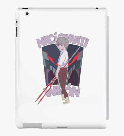 I born to meet you, dork  iPad Case/Skin