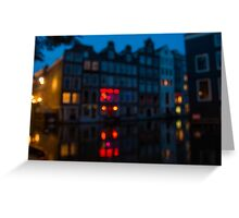 Amsterdam Red Light District # 2 Greeting Card