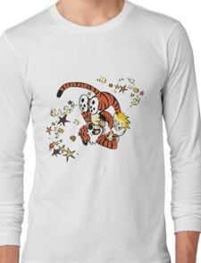 calvin and hobbes 1 Long Sleeve T-Shirt