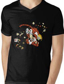 calvin and hobbes 1 Mens V-Neck T-Shirt