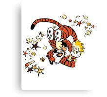 calvin and hobbes 1 Canvas Print