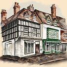 High St, Bridgnorth, Shropshire by Rasendyll