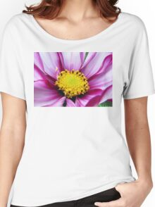 Pink Cosmos Women's Relaxed Fit T-Shirt