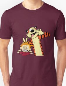 calvin and hobbes 2 Unisex T-Shirt