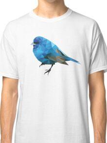 Geometric Blue Bird Classic T-Shirt