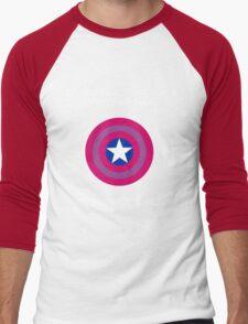 Try Someplace Else! Men's Baseball ¾ T-Shirt