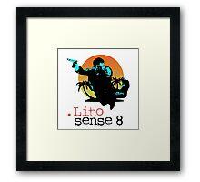 Lito - Sense8 Framed Print